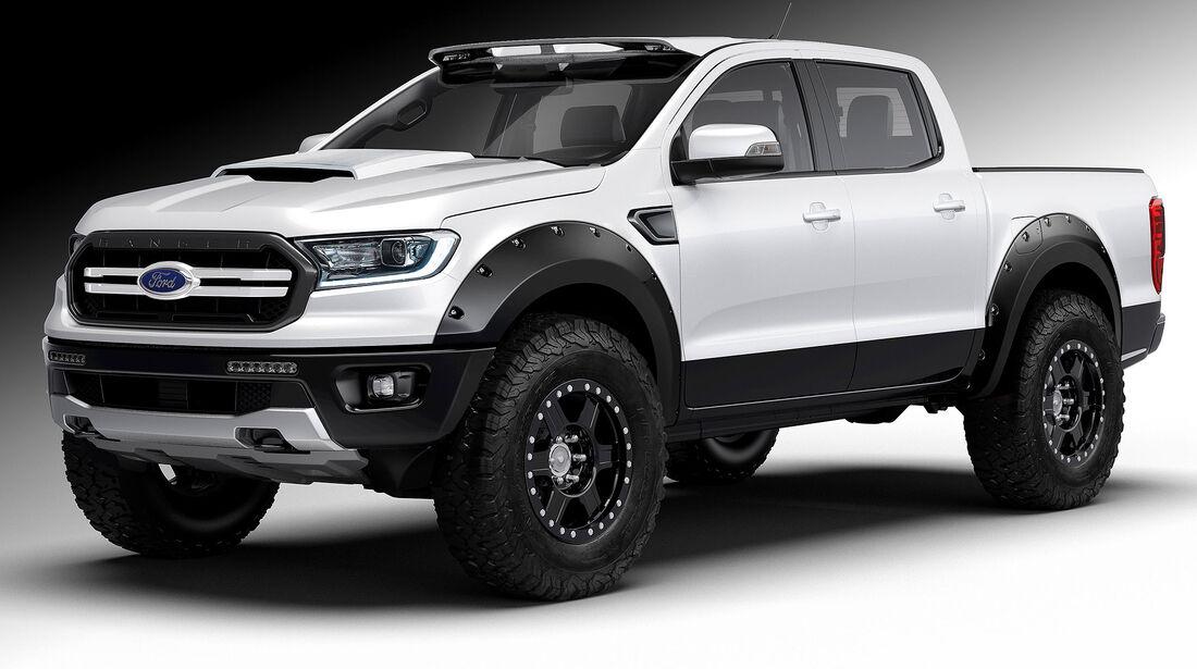 10/2018, Ford Ranger von Air Design USA