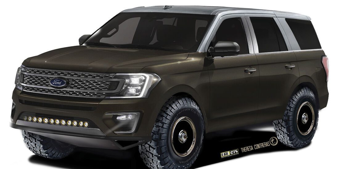 10/2018, LGE*CTS Ford Expedition XLT 4x4 auf der SEMA Show 2018