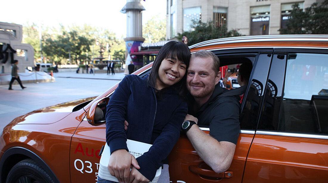 11/2011 Audi Q3 Trans China Tour 2011, Guangzhou – Hongkong