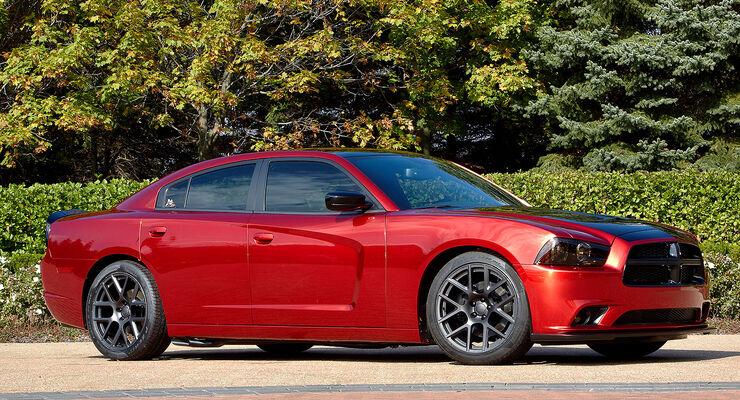 11/2013, Chrysler Mopar auf der Sema 2013. Dodge Charger