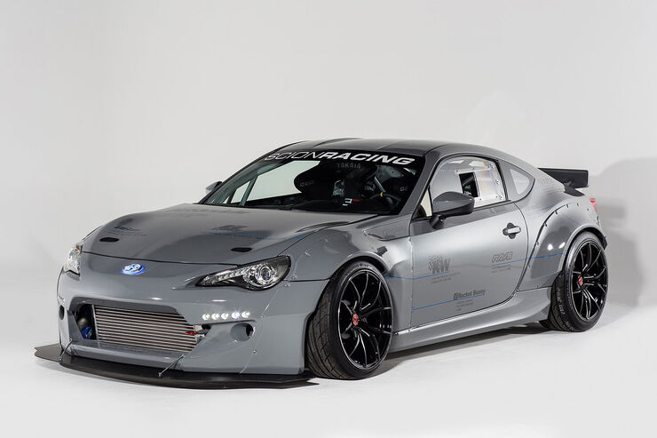 11/2013, Scion auf der Sema, Greddy Racing FRS