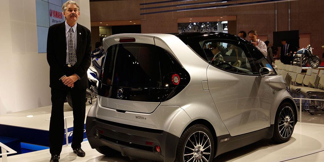 11/2013 Yamaha Motive Elektrokleinwagen Gordon Murray, Tokio Motor Show