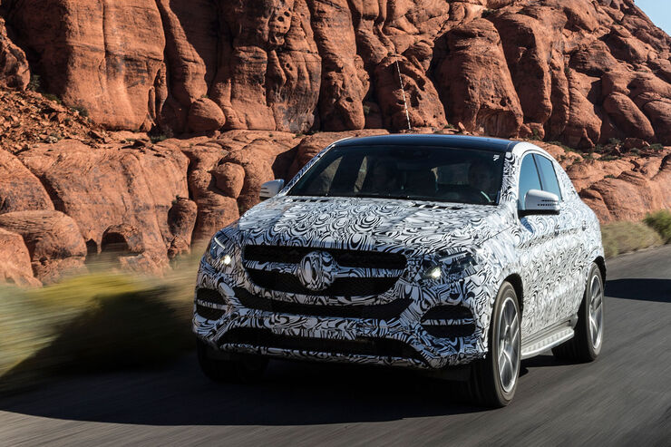 11/2014, Mercedes GLE Mitfahrt