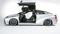 11/2015 Toyota auf der Sema 2015 Toyota Mirai Back to the Future