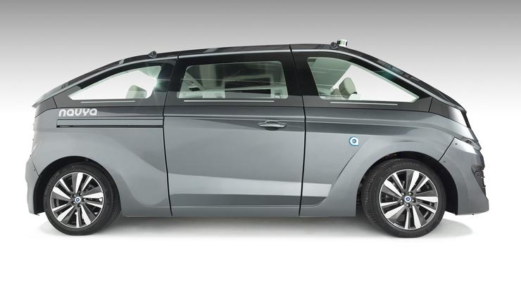 11/2017,  Navya autonome Autos - Taxi 3