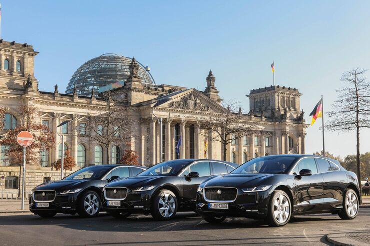Berlin Zehn Elektrische Jaguar I Pace Fur Limousinenservice Auto