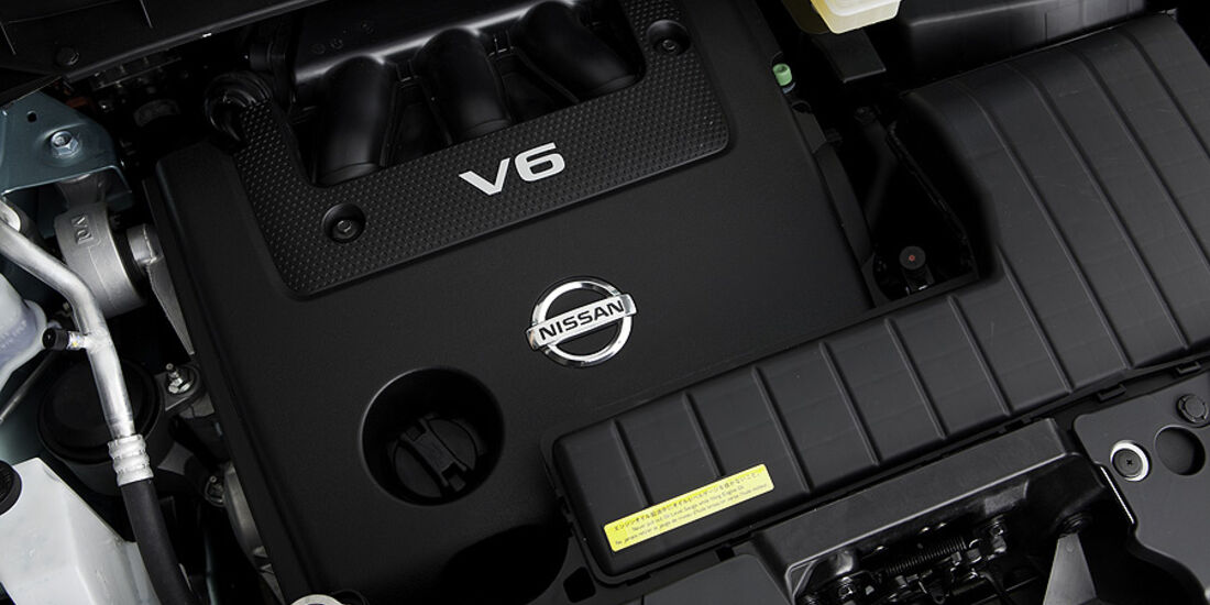 1110, Nissan Murano CC CrossCabriolet, Motor