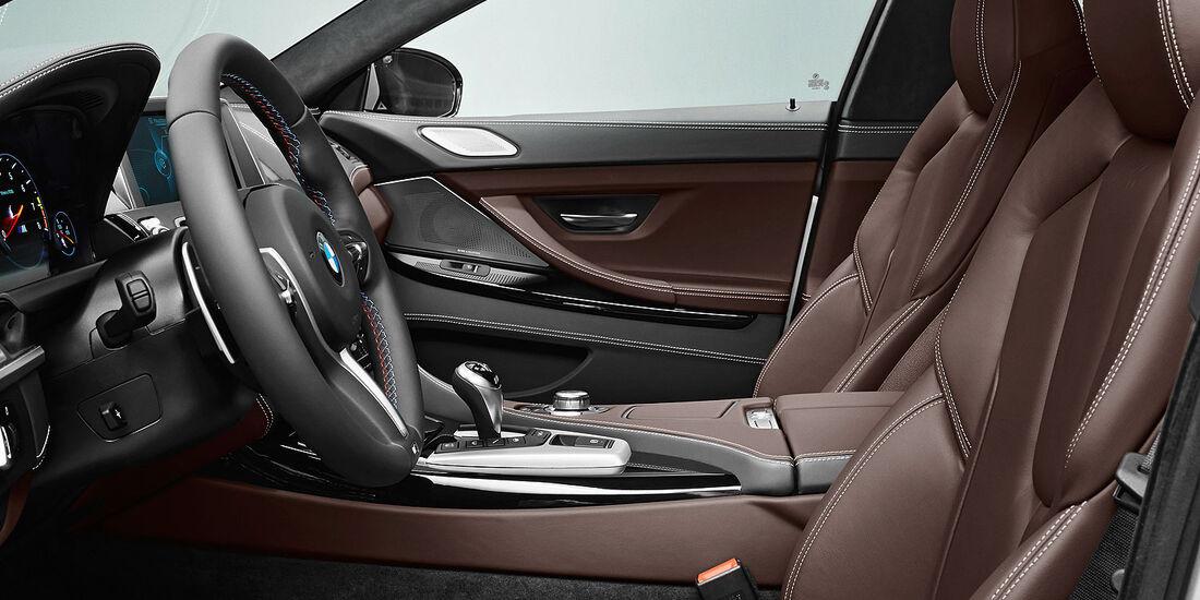 12/2012 BMW M6 Gran Coupé, Sitze vorne