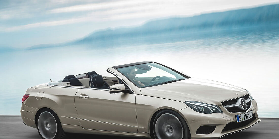 12/2012 Mercedes E-Klasse Cabrio