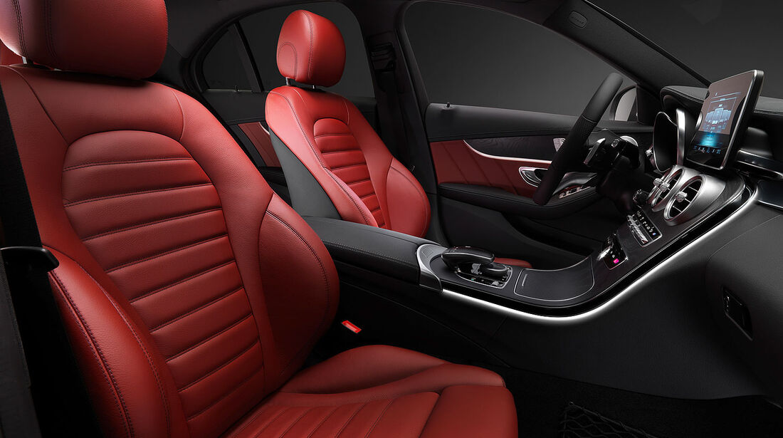 12/2013 Mercedes C-Klasse Elegance, Innenraum Sperrfrist 16.12.2013 10.00 Uhr