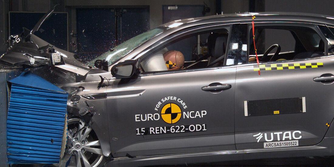 12/2015 EuroNCAP Crashtest Renault Talisman