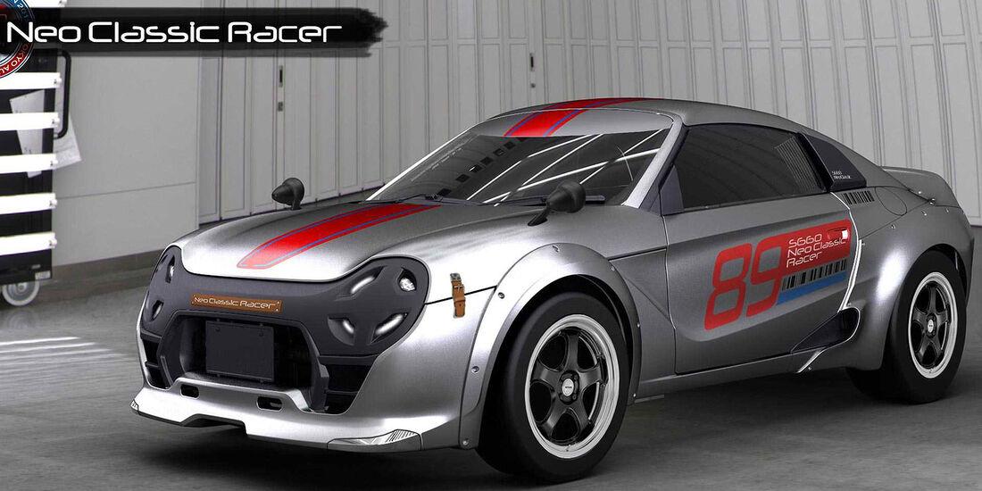 12/2018, Honda S660 Neo Classic Racer Concept