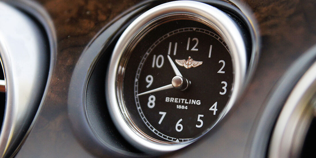 1210, Bentley Continental GT, Breitling Uhr
