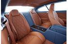 1210, Bentley Continental GT, Innenraum Rückbank, Fond