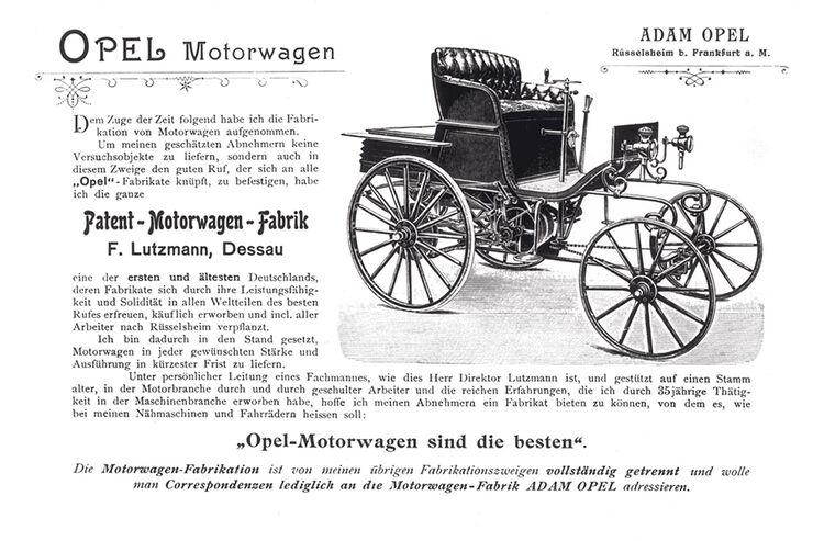 150 Jahre Opel Innovationen, Lutzmann