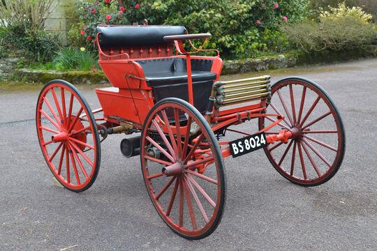 1899 Columbia Motor Buggy