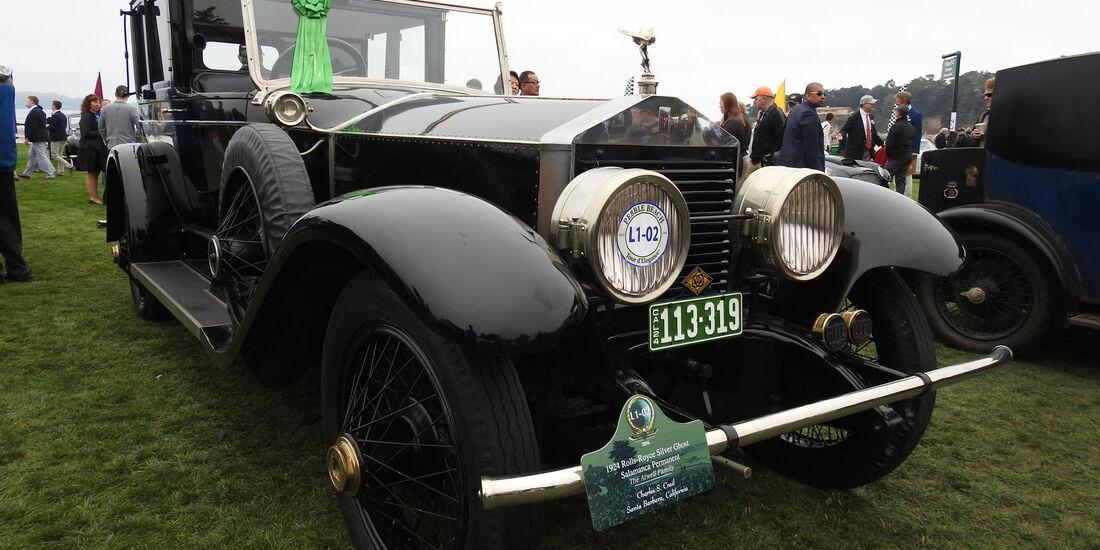 1924 Rolls-Royce Silver Ghost Salamanca Permanent - Pebble Beach Concours d'Elegance 2016