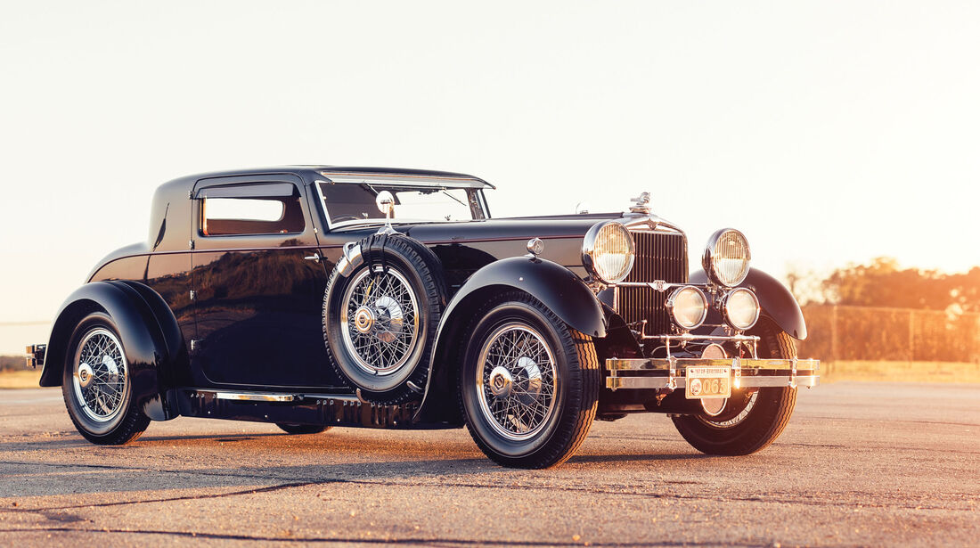 1929 Stutz Model M Supercharged Coupé by Lancefield