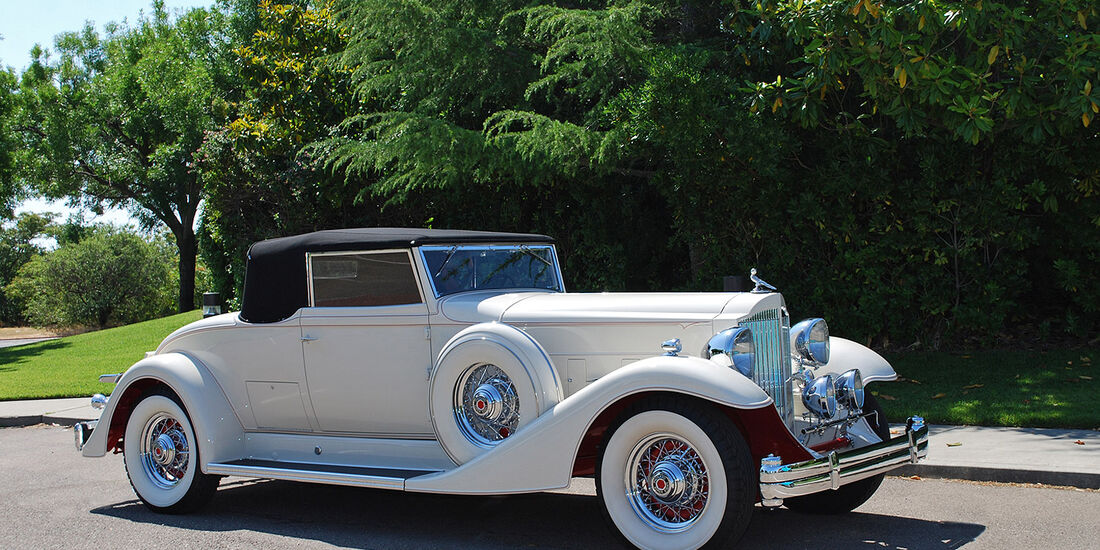 1933er Packard Super Eight Coupe Roadster