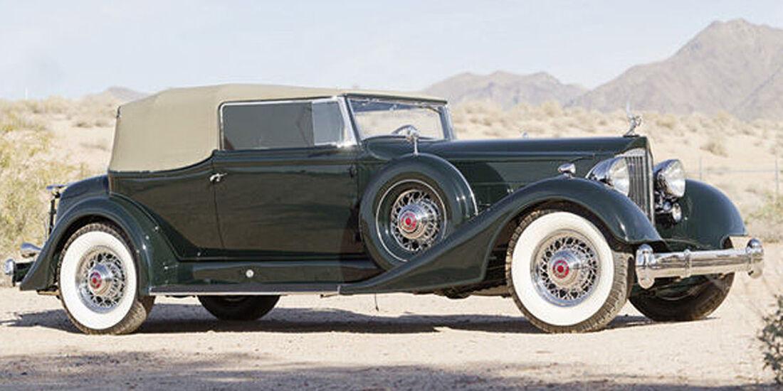 1934 Packard Twelve 1107 Convertible Victoria