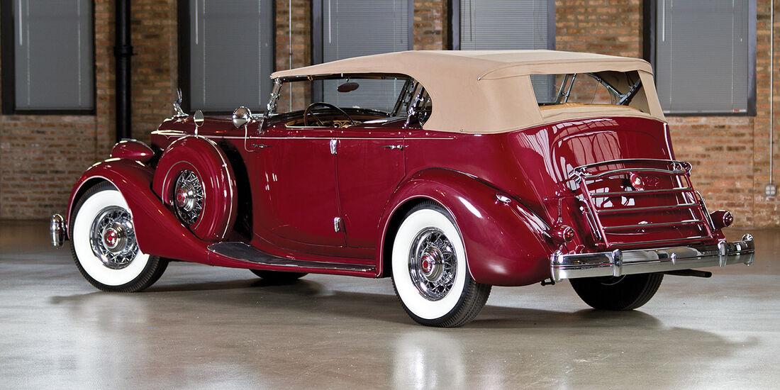 1935er Packard Twelve Dual Cowl Sport Phaeton