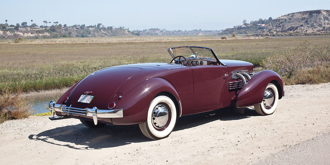 1937er Cord 812 Supercharged 'Sportsman' Convertible Coupe