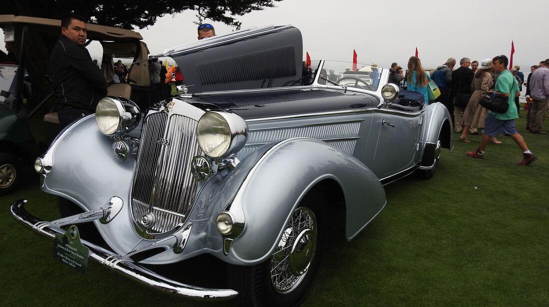 1938 Horch 853 Erdmann & Rossi Special Roadster - Pebble Beach Concours d'Elegance 2016