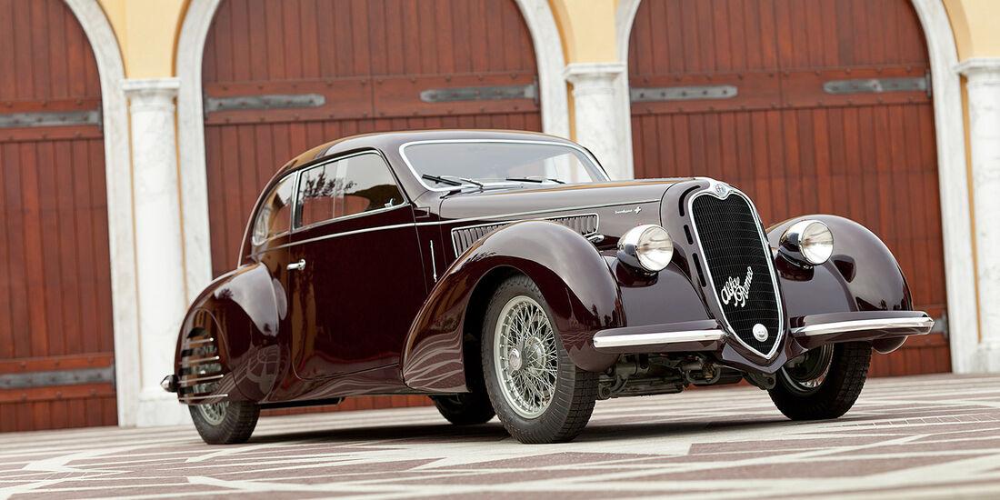 1938er Alfa Romeo 6C 2300B Mille Miglia Berlinetta by Carrozzeria Touring