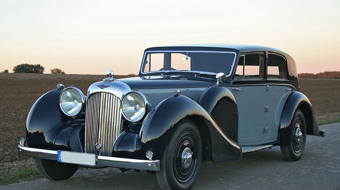 1939er Lagonda V12 Sports Saloon