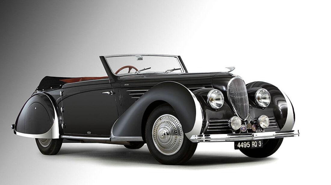 1947 Delahaye 135 MS Cabriolet par Franay