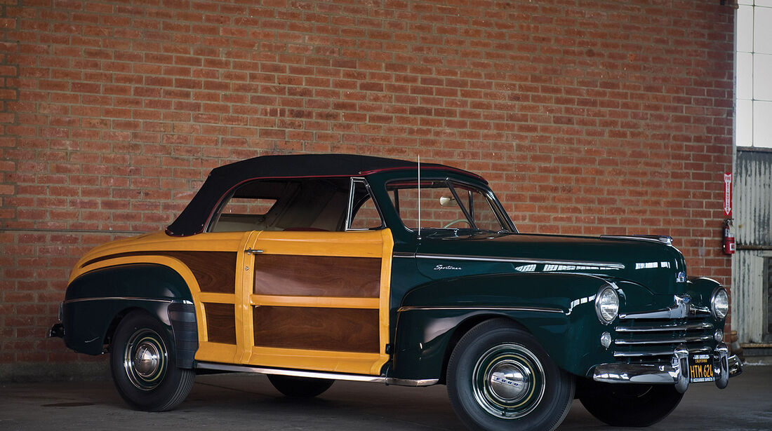 1947er Ford Super DeLuxe Sportsman Convertible