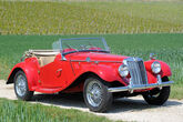 1954er MG TF Roadster