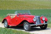 1954er MG TF Roadster