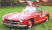 1956 Mercedes-Benz 300SL Gullwing - Ex John Surtees