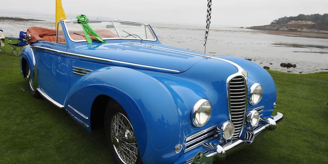 1957 Delahaye 175 S Chapron Le Dandy Cabriolet - Pebble Beach Concours d'Elegance 2016
