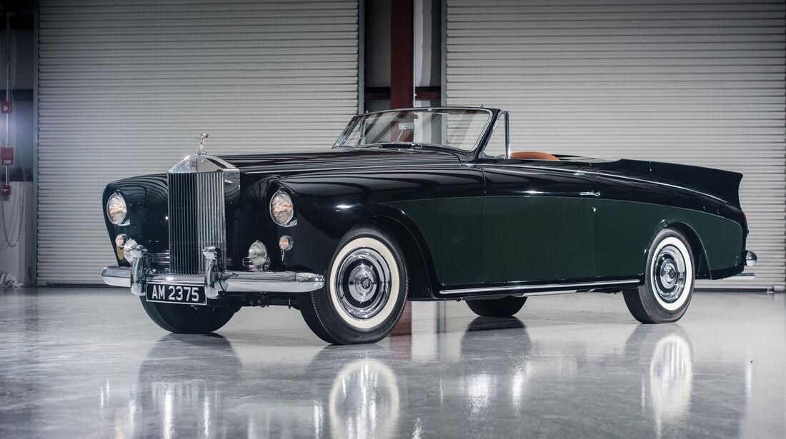 """1958 Rolls-Royce Silver Cloud I Drophead Coupé """"Honeymoon Express"""" by Freestone & Webb"""