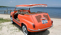 1959 Fiat 600 Jolly Beach Car - Heckansicht