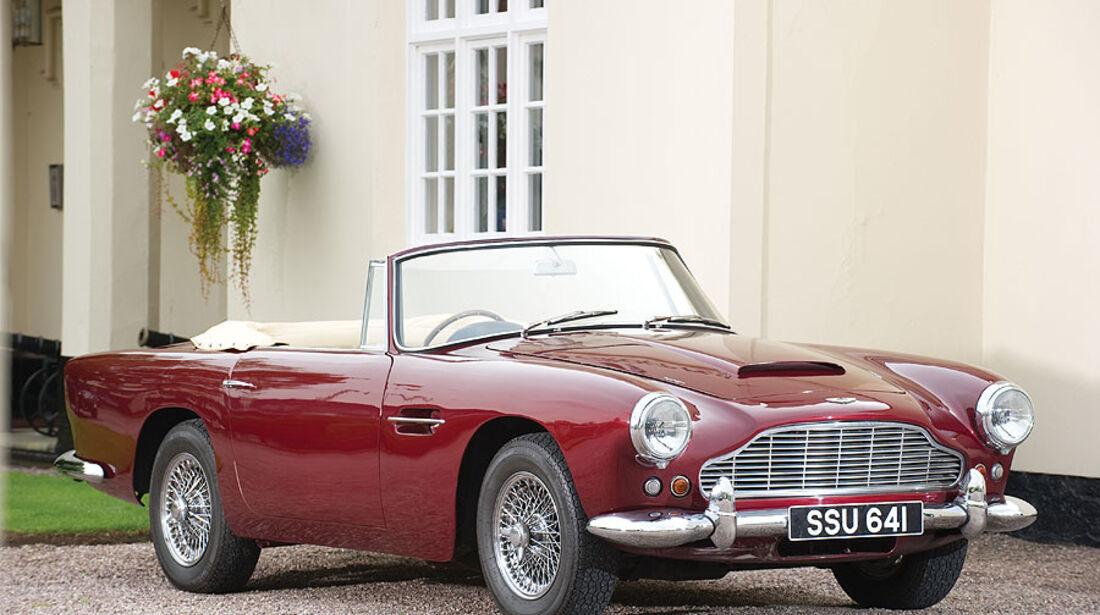1962er Aston Martin DB4 Convertible