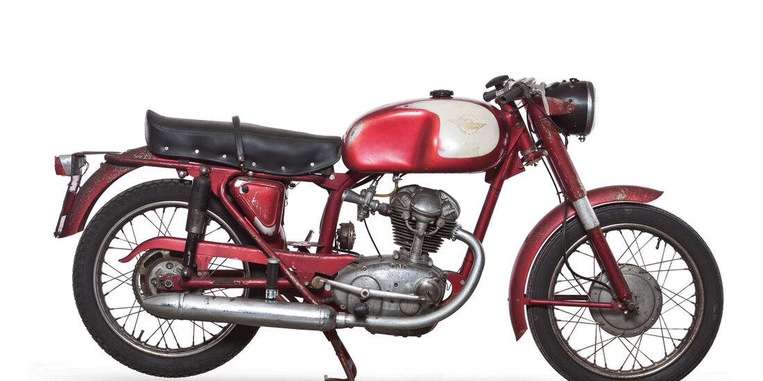 1964 Ducati 125 TS RM Auctions Monaco 2012
