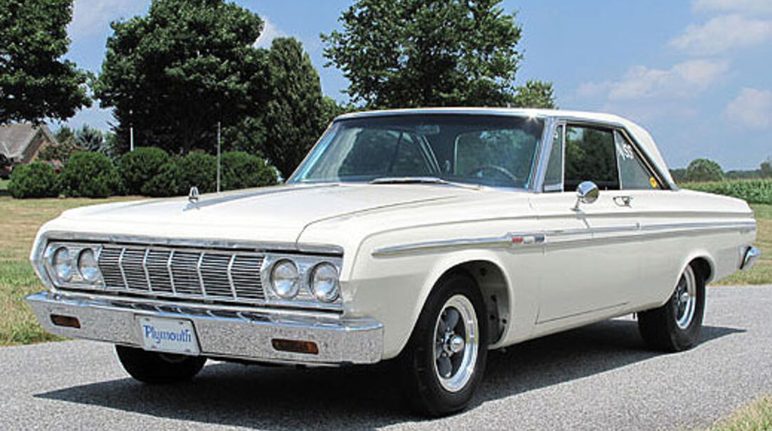 1964er Plymouth Fury Super Stock Stage III Max Wedge Hard Top