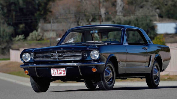 1965 Ford Mustang Hardtop Auktion Mecum