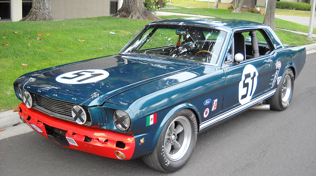 1966er Ford Mustang FIA Racing Car