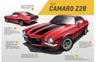 1970 Chevrolet Camaro Z/28 - Design - 2. Generation - Muscle Car - Pony Car