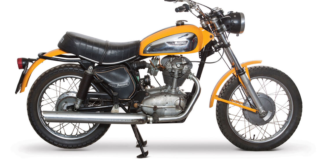 1972 Ducati 250 Scrambler RM Auctions Monaco 2012