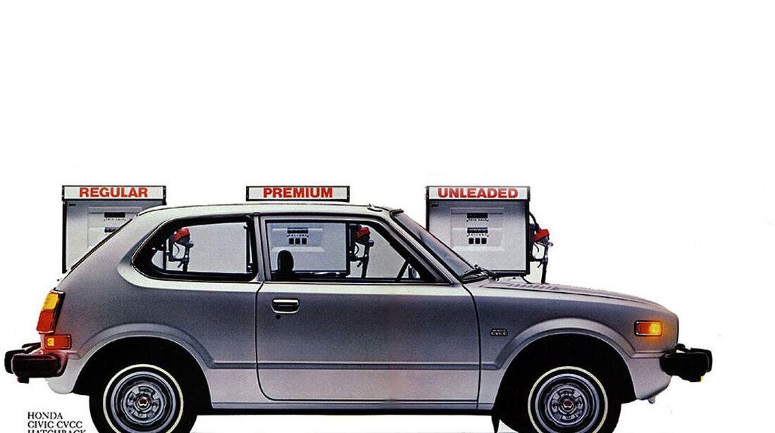1972 Honda Civic 3-door