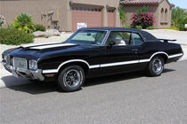 1972er Oldsmobile Cutlass Supreme 2 Door Coupe