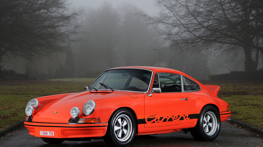 1973er Porsche 911 Carrera 2.7 RS Lightweight