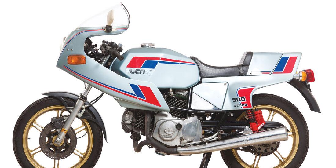 1983 Ducati 500SL Pantah Desmo RM Auctions Monaco 2012