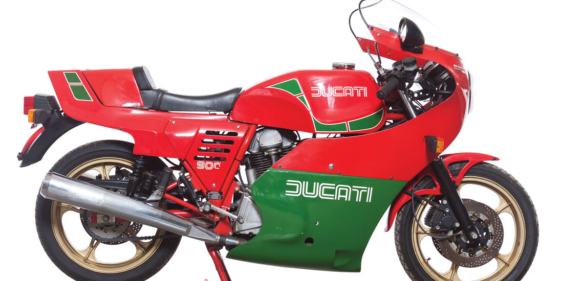 1983 Ducati 900 Mike Hailwood Replica RM Auctions Monaco 2012