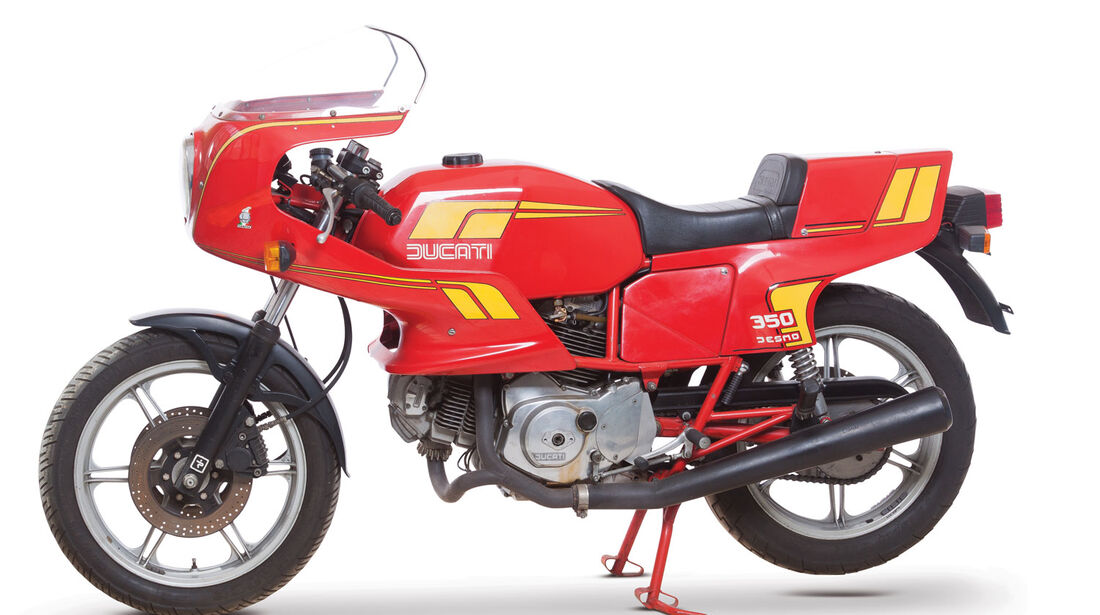 1984 Ducati 350 SL Pantah Desmo RM Auctions Monaco 2012